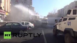 Turkey: Police attack mourners in Diyarbakir during funeral for PKK member