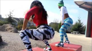 vuclip T.pain UpDown #dothisallday Twerk Competition - Nwts