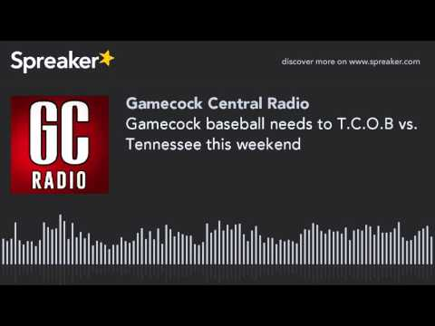 Gamecock baseball needs to T.C.O.B vs. Tennessee this weekend