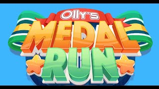 OLLY'S MEDAL RUN GAME | Olly Goes Olympic | Web Game (New Game #29)