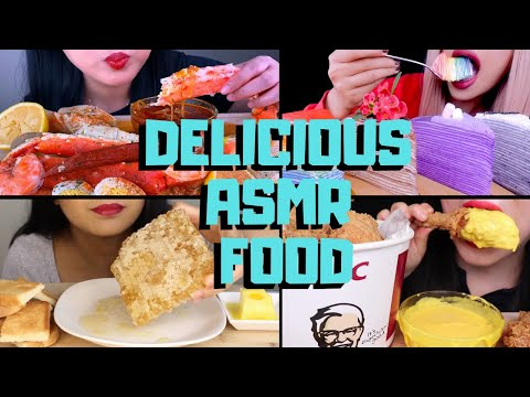 ASMR FOOD YOU WISH YOU COULD EAT AT HOME