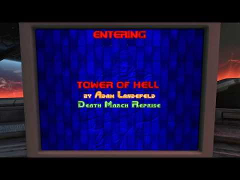 Playing Eternal Doom on Doom Eternal (Custom wad on secret source port)