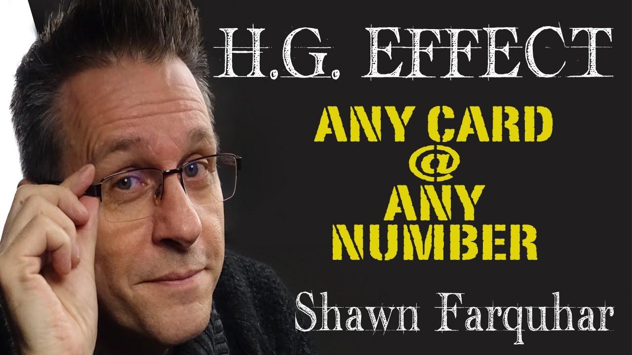 Bildergebnis für H.G. Effect by Shawn Farquhar