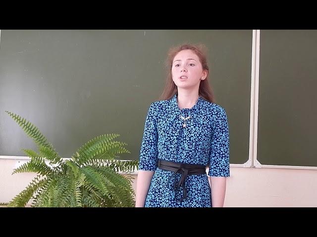Изображение предпросмотра прочтения – ДарьяСпирина читает произведение «ОТКРЫТОЕ ПИСЬМО Женщине из г. Вичуга» К.М.Симонова