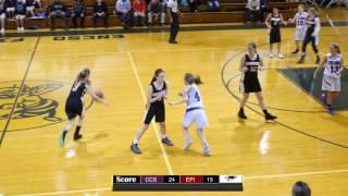 CCS Varsity Girls Basketball | 4K CLIP