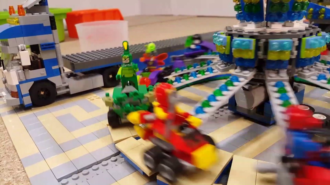 By Enfants Manege Lego Héros Super nO8wk0P