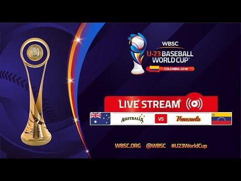 Australia v Venezuela – U-23 Baseball World Cup 2018