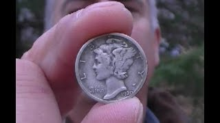 Pinpointing a Coin - Metal Detecting – Why Off Center?