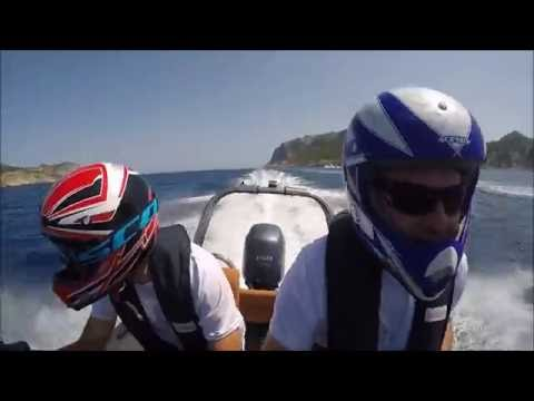 XII RAID DRAGONERA 2016 | ORANGE MARINE SPAIN - ROUGHNECK 636 -YAMAHA 150 HP