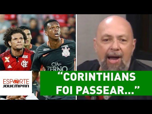 """Corinthians foi PASSEAR..."", diz Nilson após 3 a 0 do Flamengo"