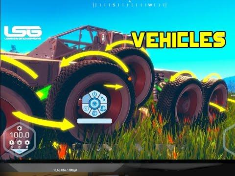 Planet Nomads -  Vehicles & Suspension