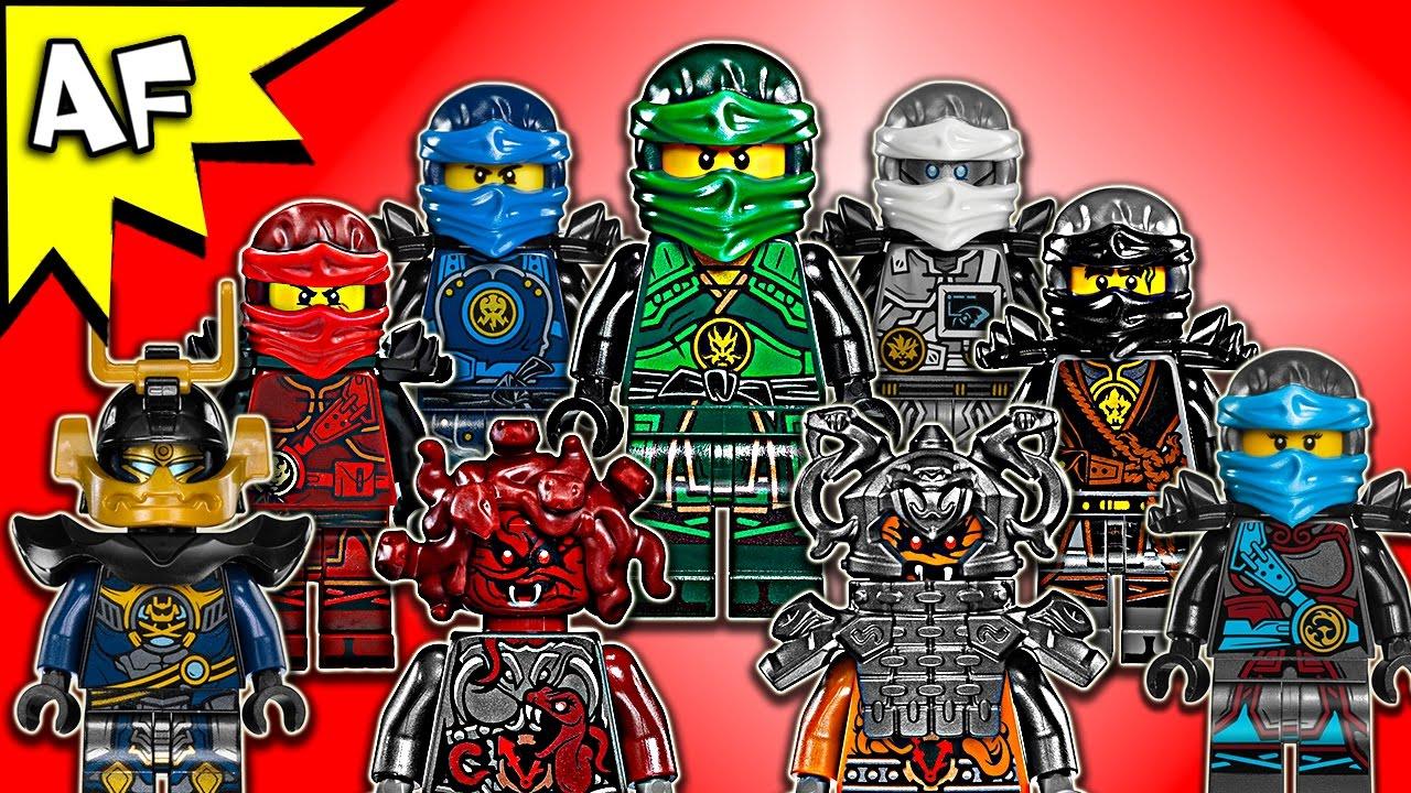 MINI FIG // MINI FIGURE Spinjitzu // Airjitzu LEGO Ninjago Cole