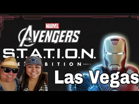 Marvels Avengers S.T.A.T.I.O.N.S exhibit at Treasure Island Las Vegas, Nevada