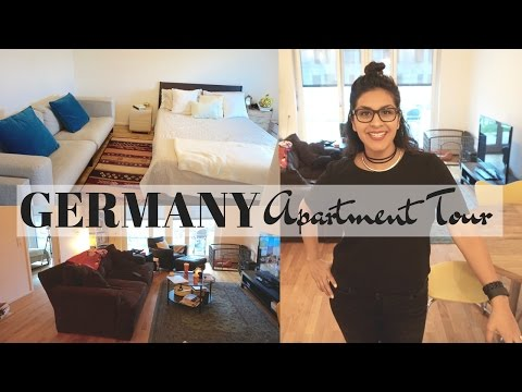 TOUR My Apartment in Germany 🇩🇪🏠 | Should I do Vlogmas?🎅⛄️🎁 | Vlog Life