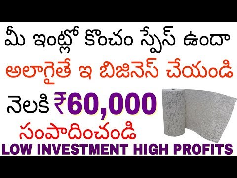 How to Start Interior Design Business | Plaster of Paris making | Earn money at home | in telugu