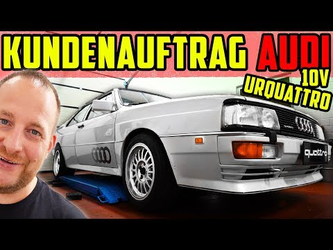 KUNDENFAHRZEUG! - Audi Urquattro 10V TURBO - Bestandsaufnahme!