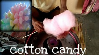 How to make candy floss || cotton candy By hand in traditional way in india