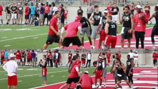 Tate Martell & Danny Clark at Ohio State Friday Night Lights