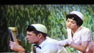 """Three Little Words 1950 - Debbie Reynolds """"I Want to Be Loved By You"""" with Carleton Carpenter"""
