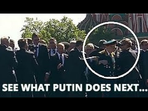 Αποτέλεσμα εικόνας για CLASS ACT: Decorated Veteran Gets Pushed Away By President's Security: See What Putin Does Next!