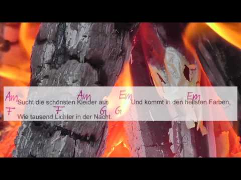 Das Leben ist schön - Sarah Connor - Lyrics and Chords - Campfire Version - Musikschach