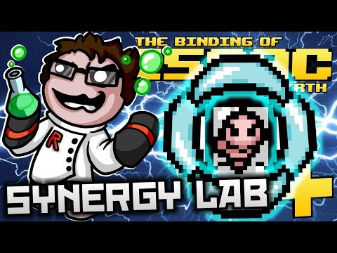 The Binding of Isaac: Afterbirth+ - Synergy Lab: ULTIMATE FETUS FLASH WAVE! (LAB EXPLOSIVE UPGRADE)