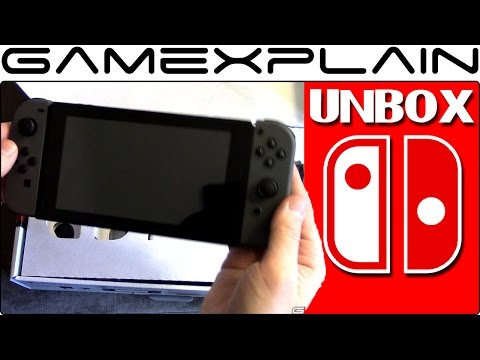 Nintendo Switch UNBOXING - We Finally Open It! (+ Accessories)