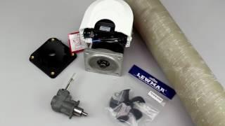 Установка подруливающего устройства LEWMAR
