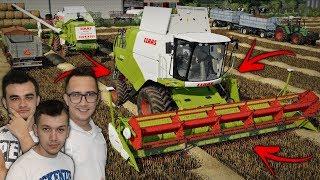 """Nowy Nabytek ☆ Żniwa na 2x Claas'y [Sąsiedzka Pomoc] ✔ """"Sąsiedzi""""#46 Farming Simulator 19☆"""
