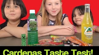 Taste Test!  Chili Lollipop, Spicy Candy, Aloe Vera Drink, And More!!!