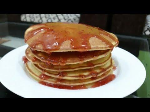 Pancake Simple Lembut dan Enak | Cara Mudah Membuat Pancake