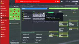 Football Manager 2015 Tactics 101 - Controlling the Game