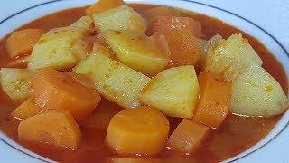 Havuçlu Patates Yemeği Tarifi ve Malzemeleri