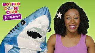 Baby Shark | Mermaid Shark Family Dance Party | Mother Goose Club Playhouse Kids Video