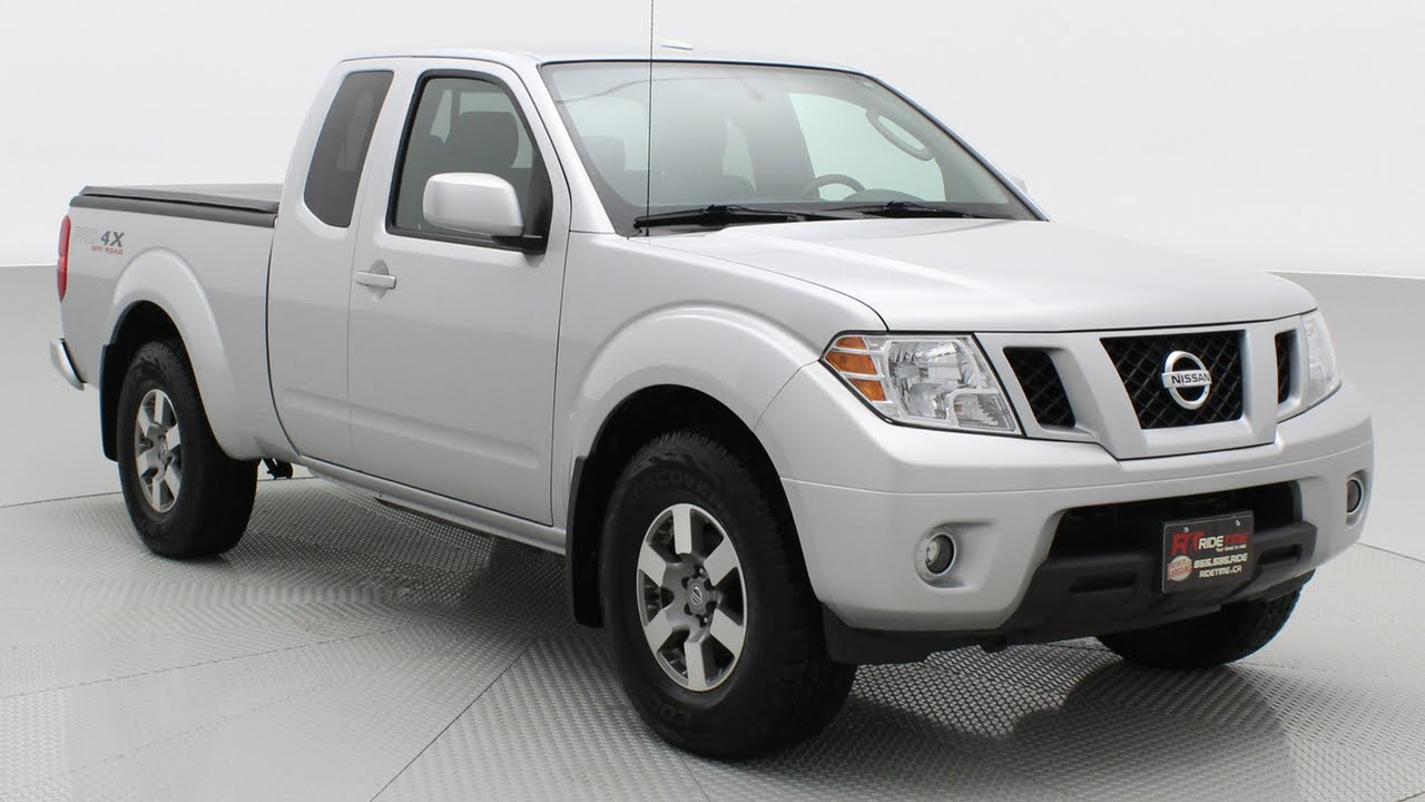 2010 Nissan Frontier PRO 4X 4WD By Ride Time