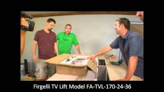 Diy Network - House Crashers With Firgelli Automations Tv Lift.wmv