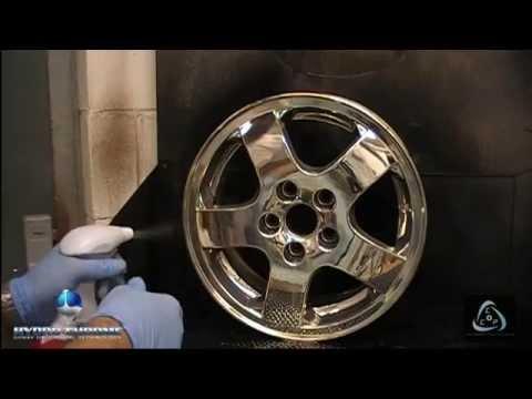 Spray on chrome kit chrome solutions