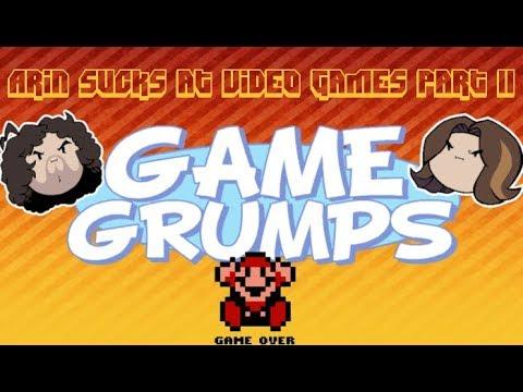 Arin Sucks at Video Games Part II Compilation - Game Grumps