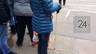 Ко Дню белой трости в Нижнекамске провели акцию