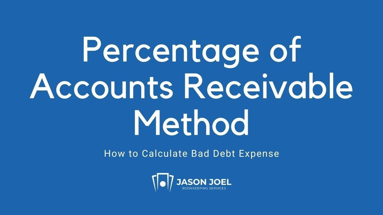 Percentage of Accounts Receivable Method
