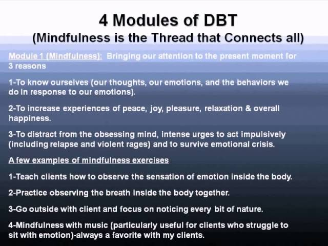 Dbt+Mindfulness+Exercises