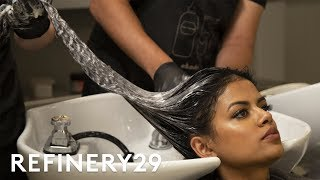 I Bleached My Black Virgin Hair & Dyed It Red | Hair Me Out | Refinery29