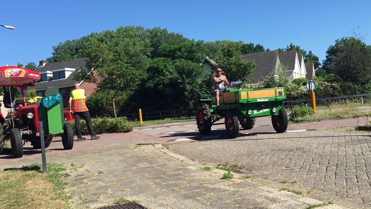 power weekend: trekkers in Baarn
