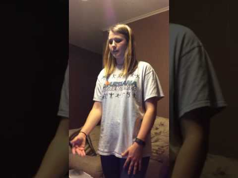 Persuasive Speech - Allison Sparks