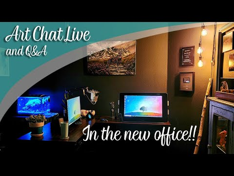 Art Chat LIVE From The New Office!! Lachri