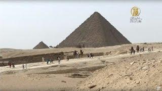摩根費里曼埃及金字塔拍新戲【大千世界】上帝的故事|Morgan Freeman|國家地理頻道|耶路撒冷|印度|創意點子