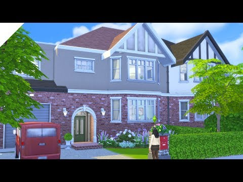 Traditional London Suburban | Parenthood | The Sims 4: Speed Build (CC Free)