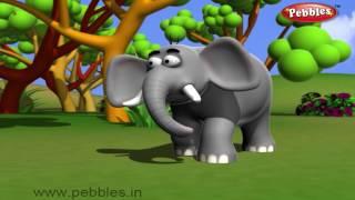 Elephant Nursery Rhyme | Animal Rhymes | Nursery Rhymes For Kids | Nursery Rhymes 3D Collection