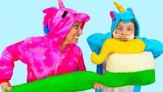 Little Pony & Toothbrush   Fun Costumes   Morning routine  Super Elsa