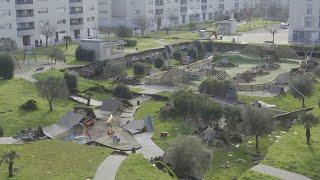 El peso de la tierra podría ser la causa del derrumbe de Santander